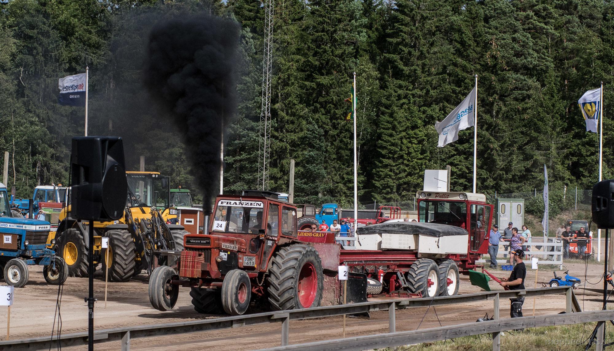 Fransén med Volvo BM 810