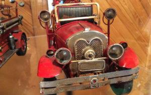 Brandbil modell liten