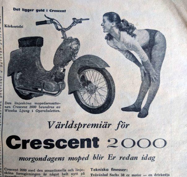 Världspremiär Crescent 2000